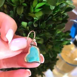 Jewelry - One lonely sterling silver turquoise earring